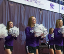 The K-State Cheer Team.