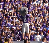 K-State's mascot Willie the Wildcat
