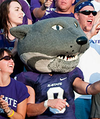 Mascot Willie Wildcat