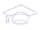 Icon of mortar board