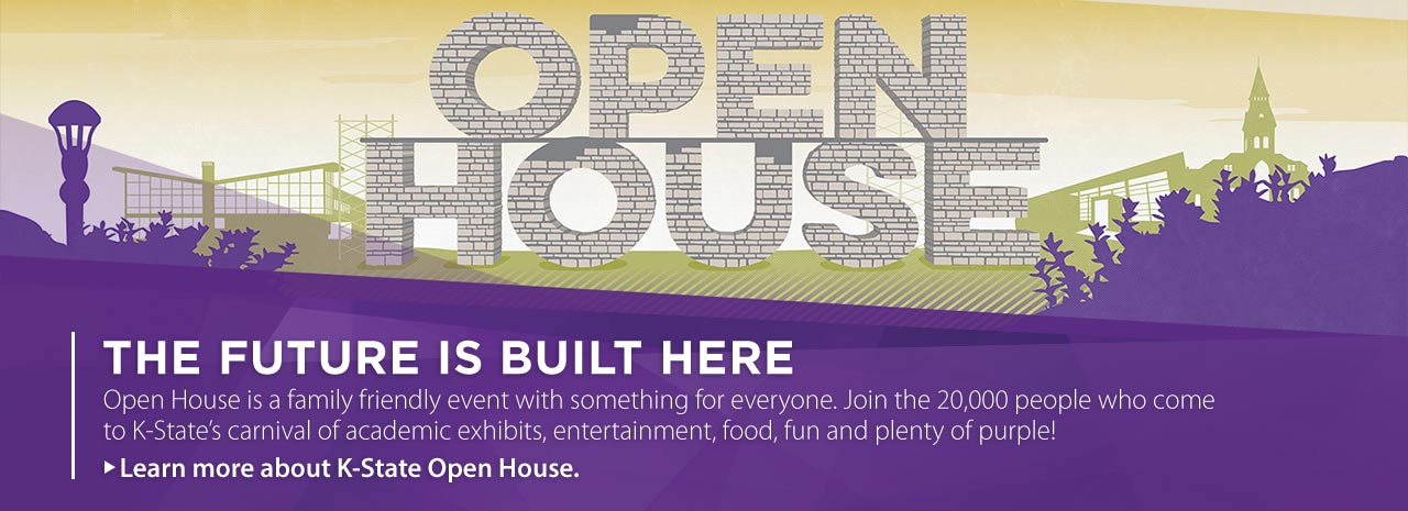 K-State 2017 Open House Poster