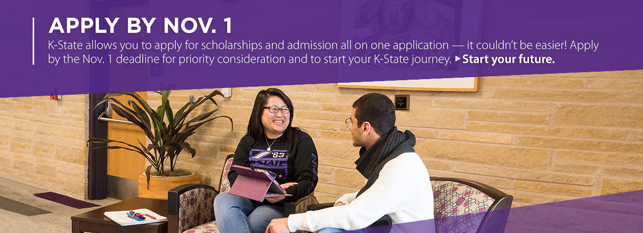 Students visiting on campus - Apply by Nov. 1