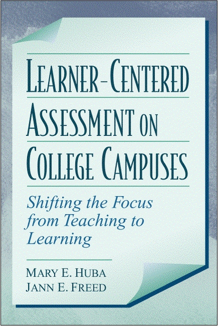 Learner Centered Assessment