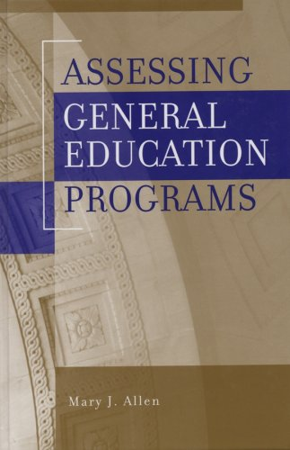 Assessing Gen Ed Programs