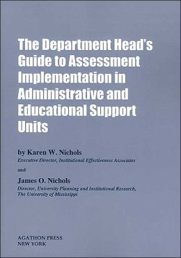 The department head's guide to assessment implementation