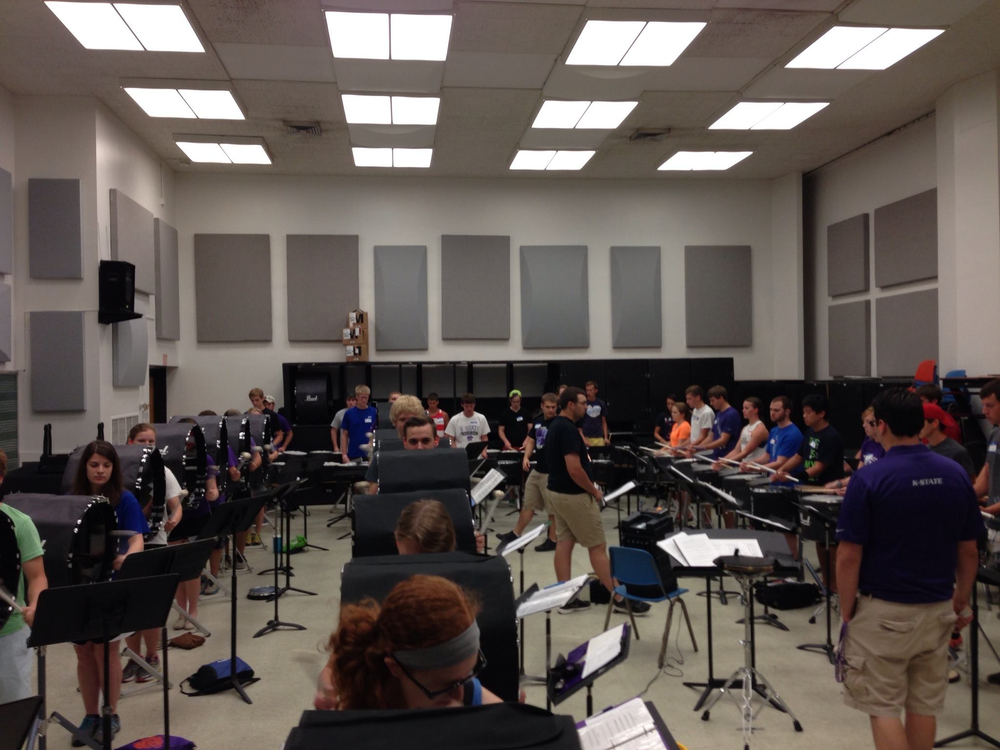 KSU Drumline Mini-Camp 3