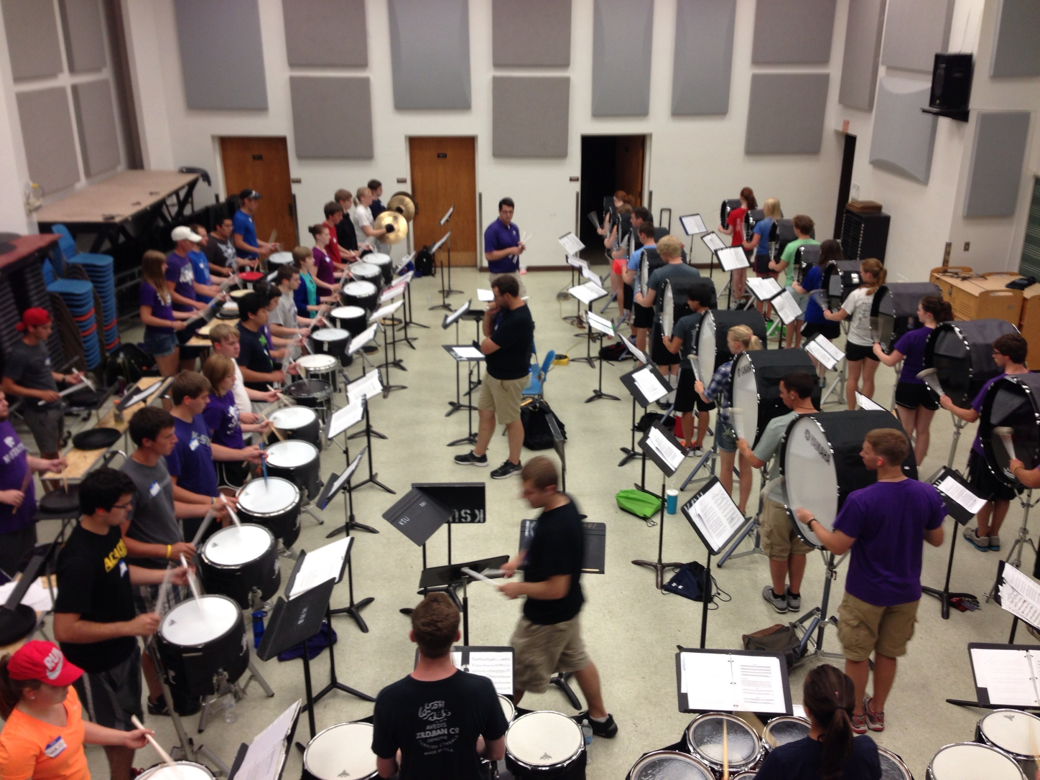 KSU Drumline Mini-Camp 2