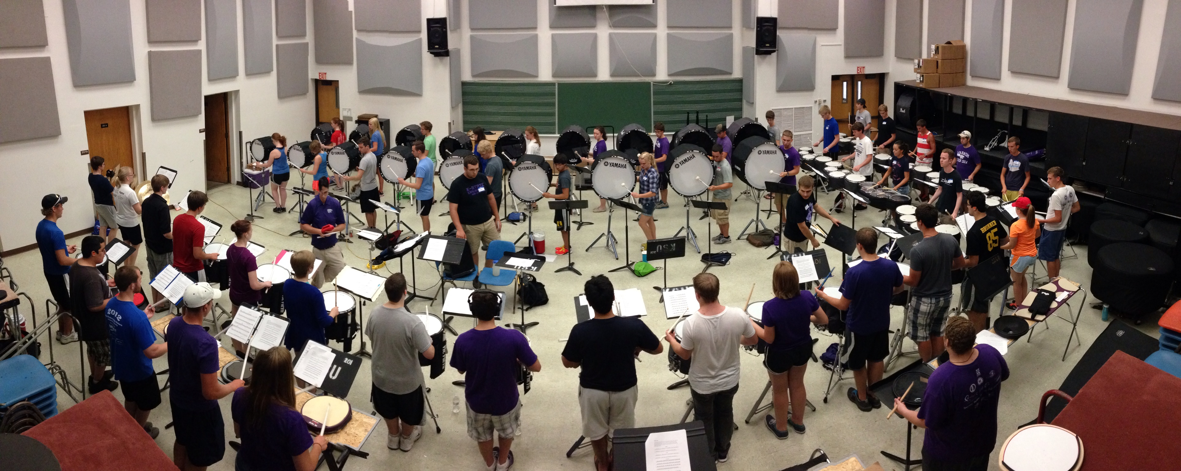 KSU Drumline Mini-Camp 1