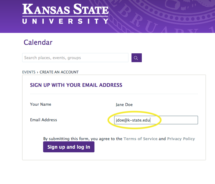 Getting Started Calendar Of Events Kansas State University