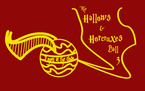 Hallows & Horcruxes 3 T-Shirt Front