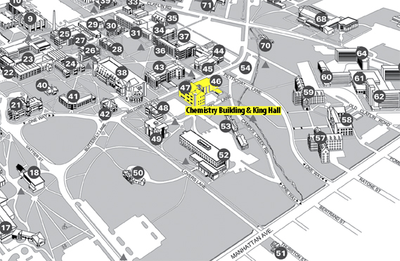 Campus Map About The Department Chemistry Department