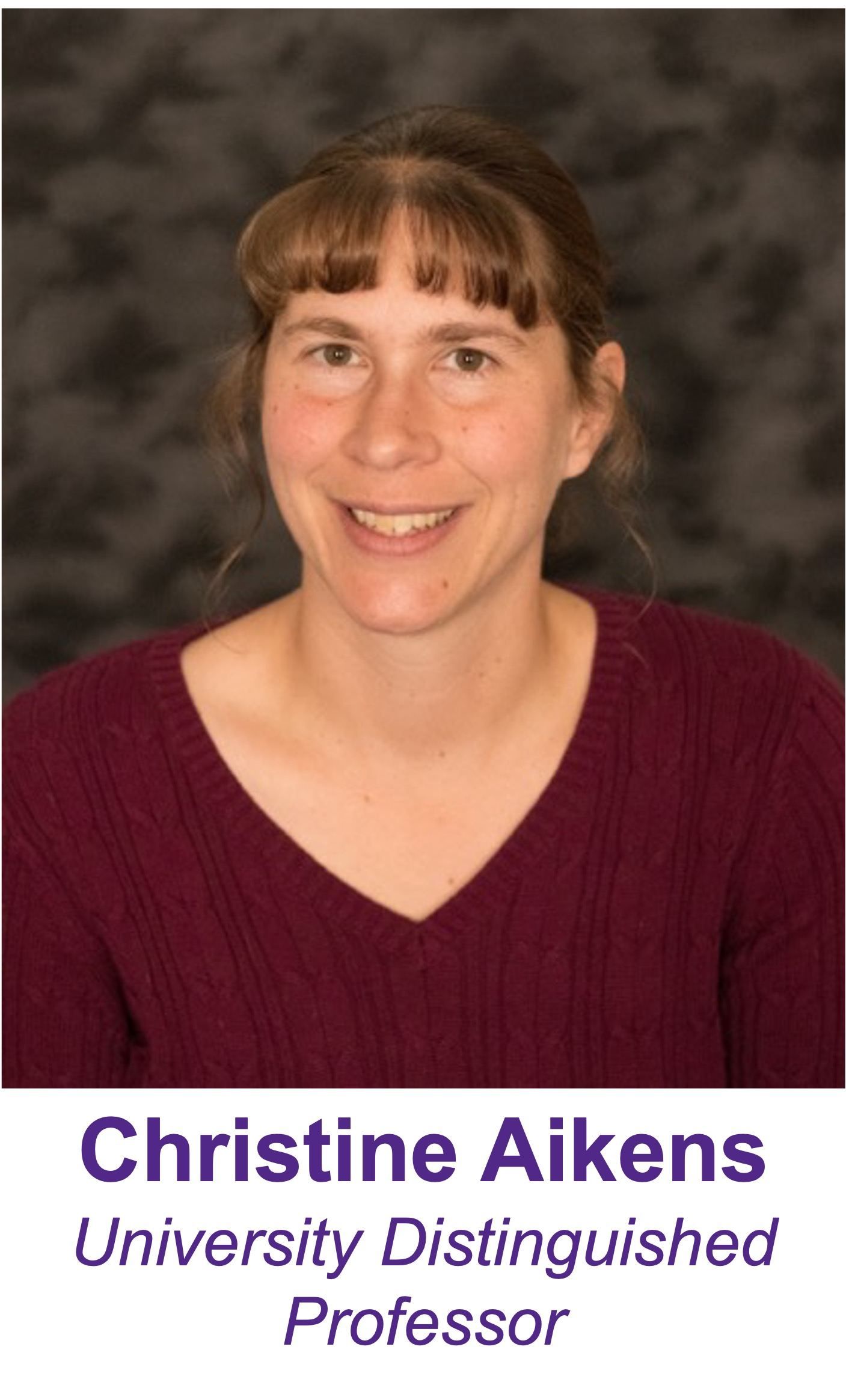 Professor Christine Aikens
