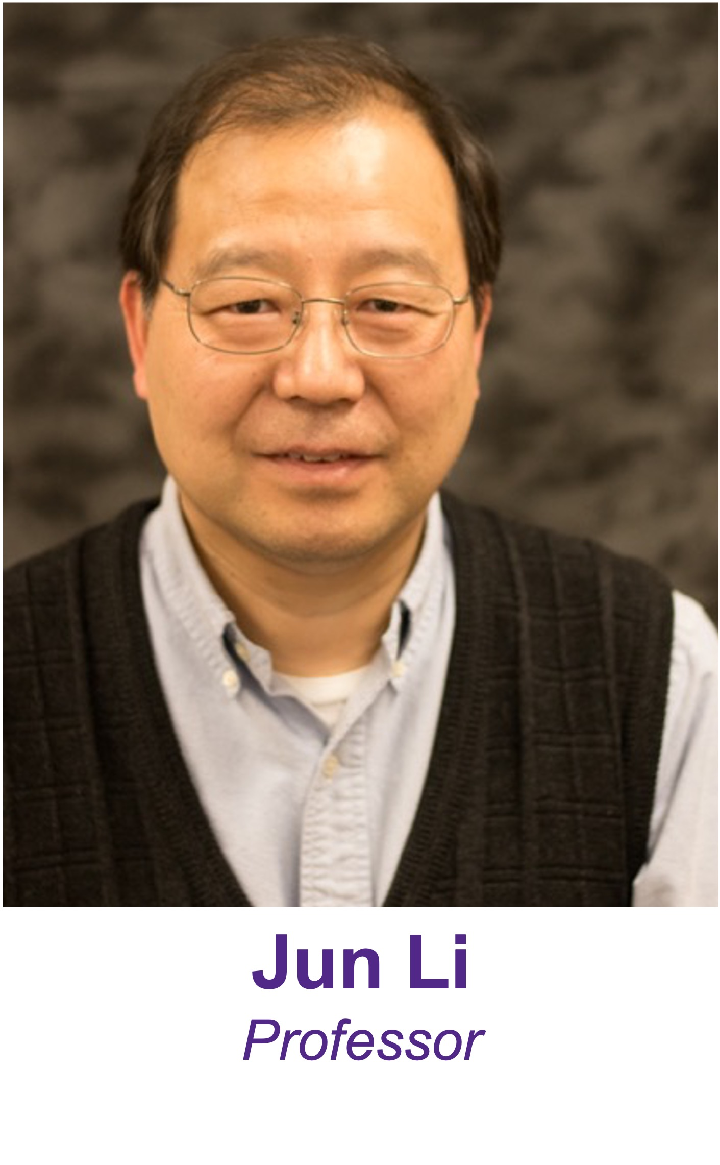 Professor Jun Li