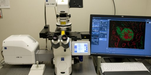 Confocal Zeiss 700 Instrument
