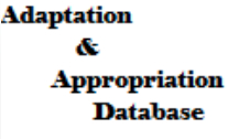 Adaptation and Appropriation Database