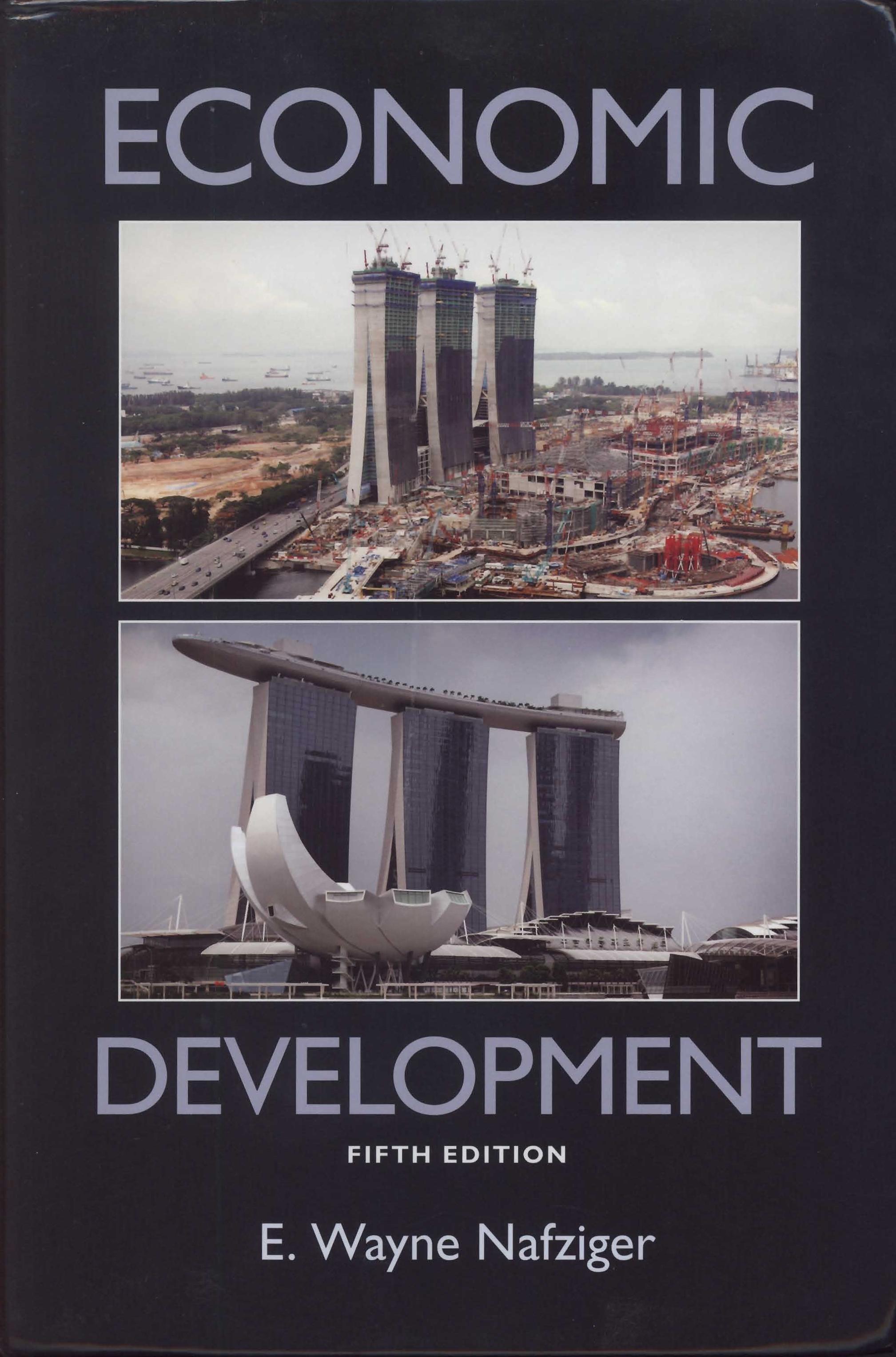 Dr. Nafziger's book, Economic Development