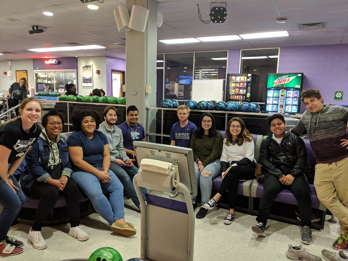 First gen students bowling