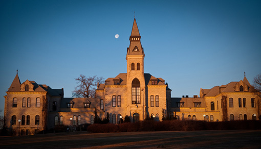 Sunrise on Anderson Hall