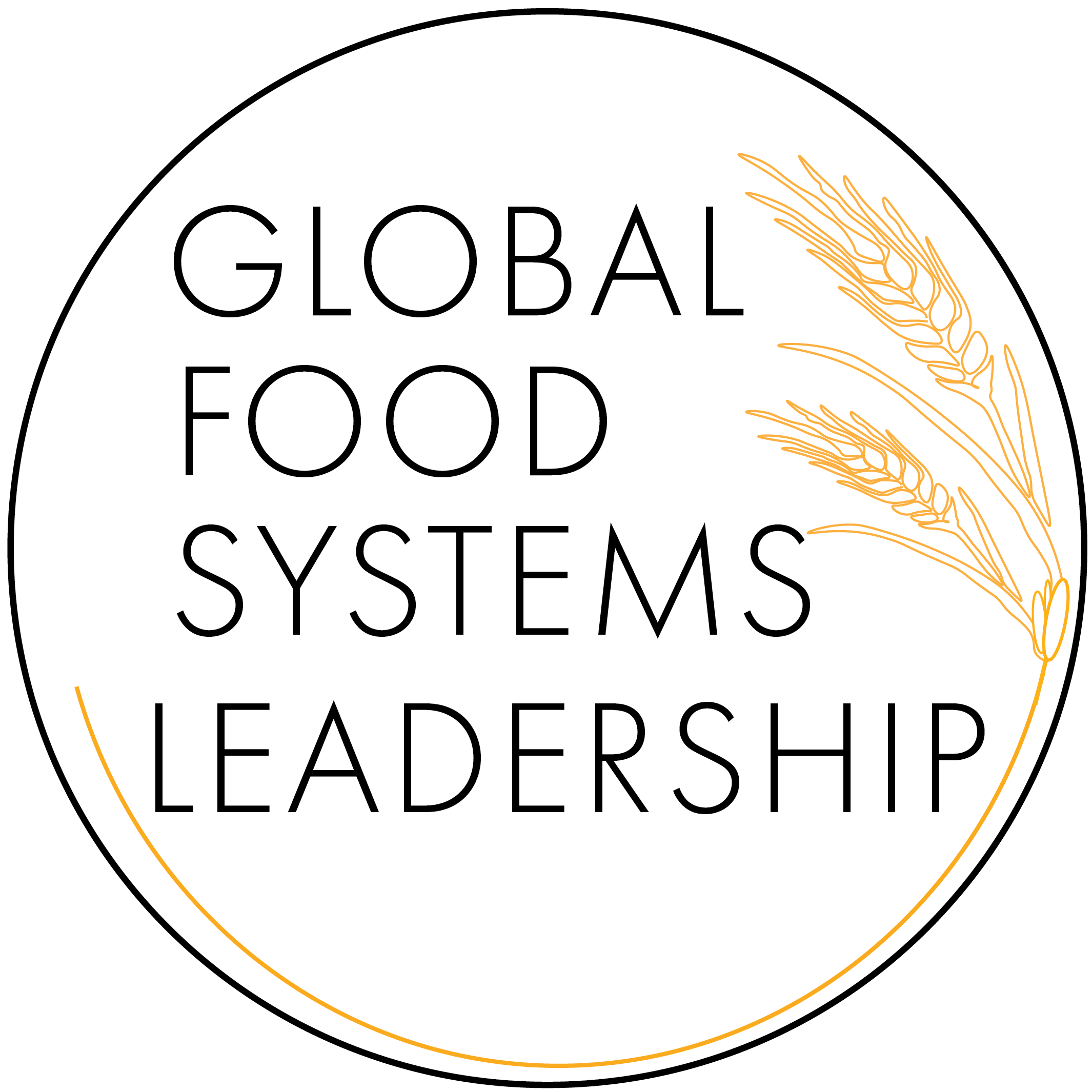 The official logo of K-State's Global Food Systems Leadership program
