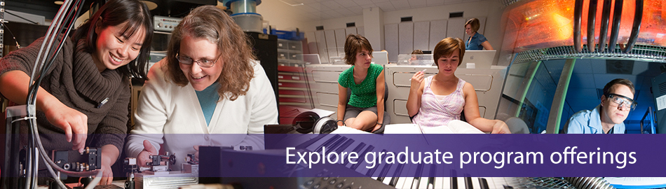 Explore graduate program offerings