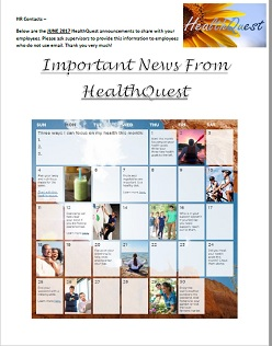 Healthquest June 2017
