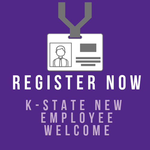 Register for K-State New Employee Welcome