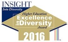 Higher Education Excellence in Diversity Award 2015