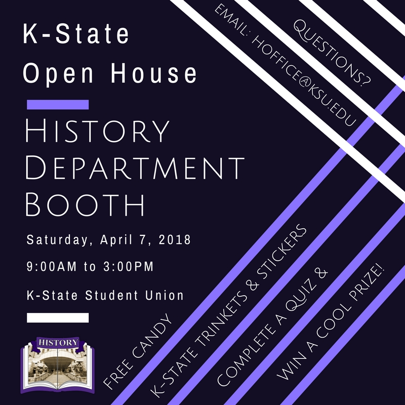 History Booth Open House 2018
