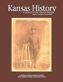 Kansas History Fall 2018 cover