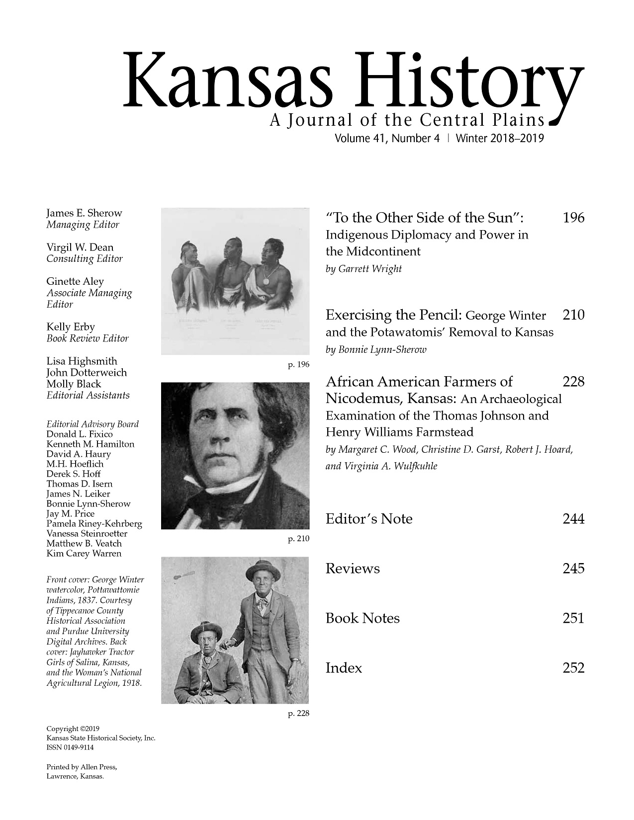 8d733bb7ac6 Kansas History  Journal of the Central Plains