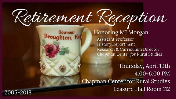 MJ Retirement Reception