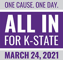One cause. One day. All in for K-State