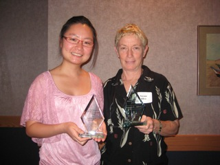 Award to Jinzi Chen and to Dr. Susan Allen