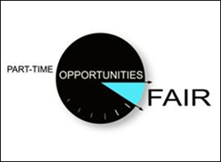 part-time fair logo