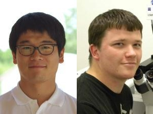 Donghun Kim (left) and Josh Urban (right)