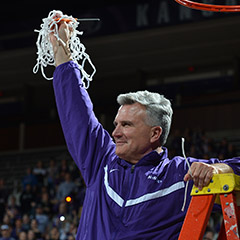 Big 12 Coach of the Year Bruce Weber