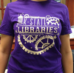 K-State Libraries Week of Welcome t-shirt