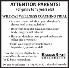 Wildcat Wellness Coaching Trial advert
