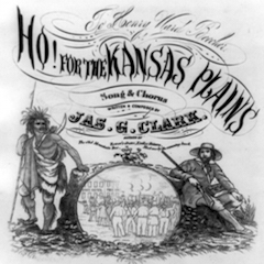 Cover image of Kansas Emigrant Song