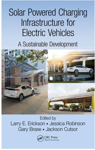 """Solar Powered Charging Infrastructure for Electric Vehicles"" book"