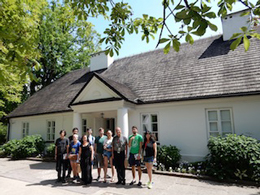 K-Staters visit Chopin's birthplace in Zelazowa Wola, Poland