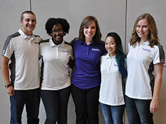 The College of Business advising assistant team.