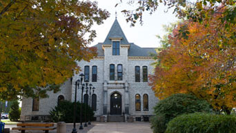 North side of Anderson Hall
