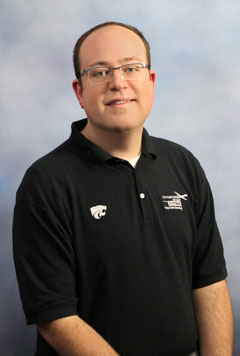 David Burchfield, a teaching assistant professor in the UAS program at Kansas State Polytechnic, was the keynote speaker at the 2017 Kansas Natural Resources GIS Technical Meeting on April 6.