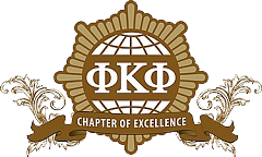 Phi Kappa Phi Chapter of Excellence seal