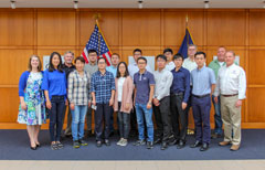 U.S. Grains Council China Sorghum Workshop participants at the IGP Institute