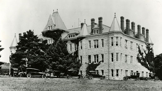 Denison Hall in 1923.