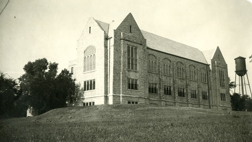 Farrell Library in 1927