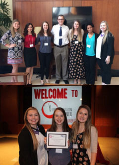 K-State PRSSA at Find Your Passion Sooner Conference, University of Oklahoma