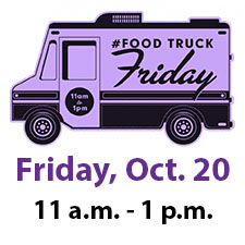 Food Truck Friday Logo, Date and Time